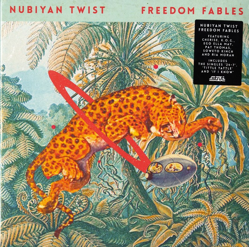 Nubiyan Twist - Freedom Fables - Limited Edition, Green, Double Vinyl, LP, Strut Records, 2021