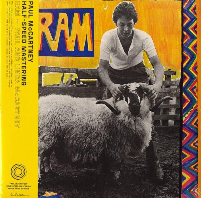 Paul and Linda McCartney - RAM - Limited Edition, 50th Anniversary Half-speed Master Edition, Vinyl, LP, Capitol, 2021