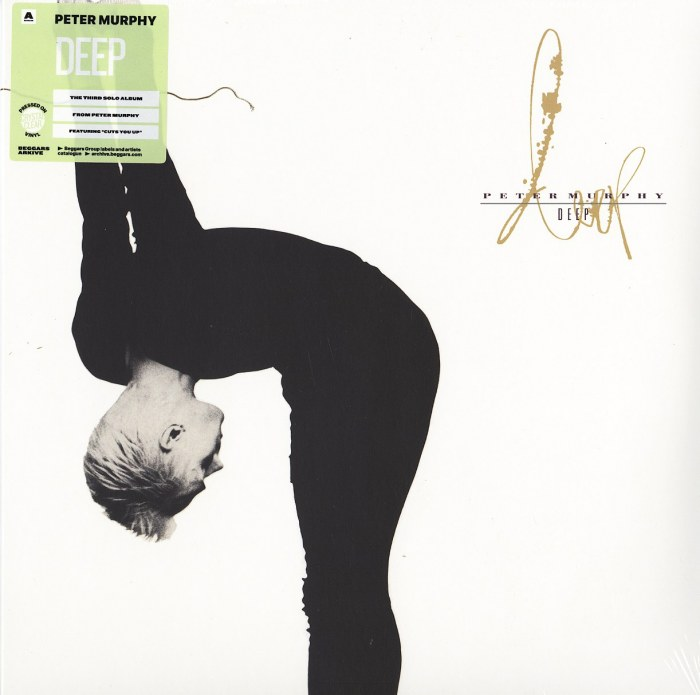 Peter Murphy - Deep - Limited Edition, Clear Vinyl, LP, Reissue, Beggars, 2021