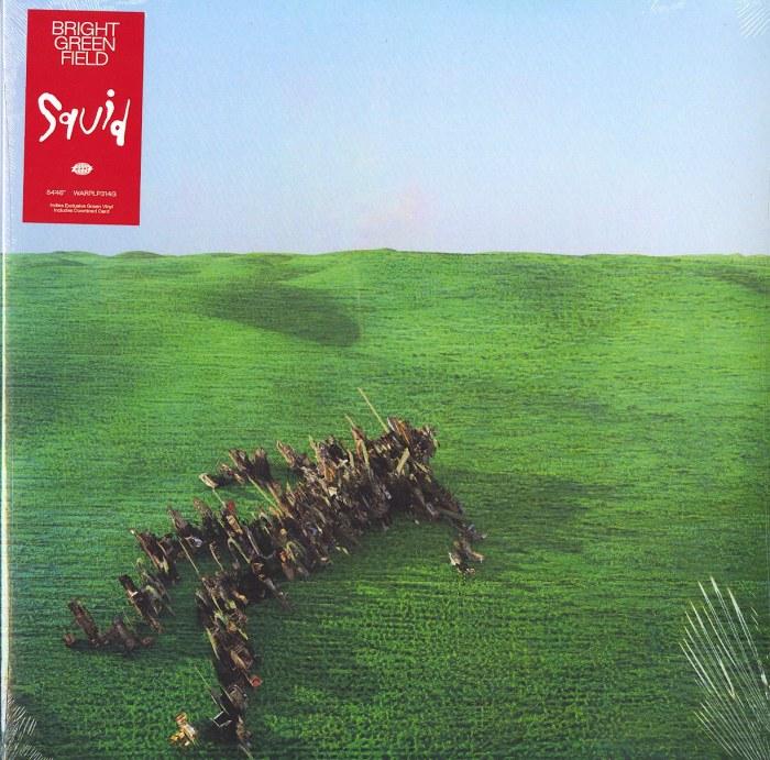 Squid - Bright Green Field - Limited Edition, Green Vinyl, LP, Warp Records, 2021