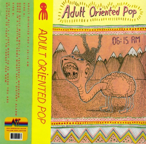 Adult Oriented Pop - 6:15 am - Limited Edition, Yellow Vinyl, LP, Lazy Octopus Records, 2021