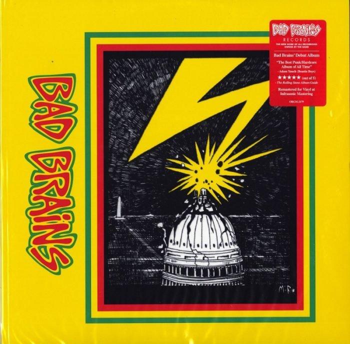 Bad Brains - Bad Brains - Vinyl, LP, Restored, Remastered, Org Music, 2021