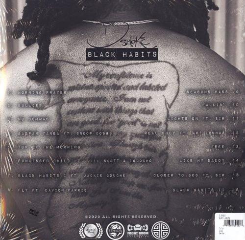 D Smoke - Black Habits - Vinyl, LP, Woodworks Records, 2021