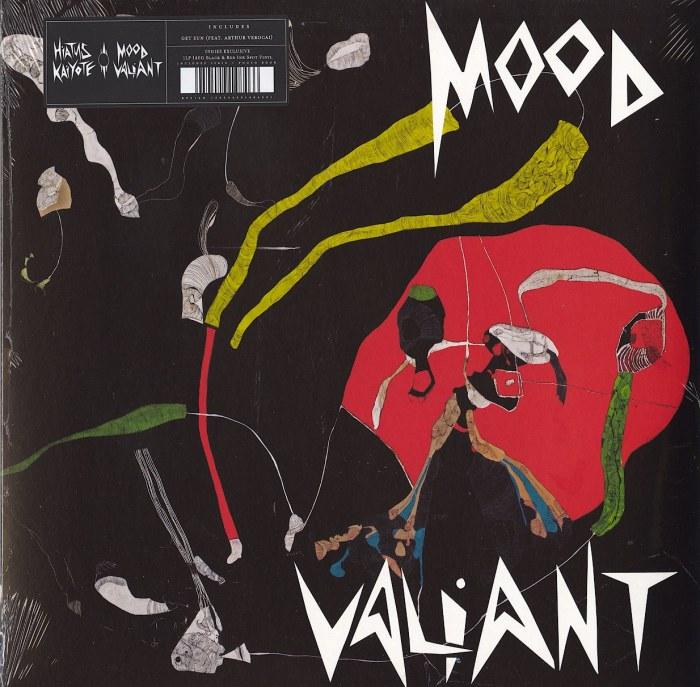 Hiatus Kaiyote - Mood Valiant - Limited Edition, Red and Black Ink Spot, Vinyl, LP, Brainfeeder, 2021