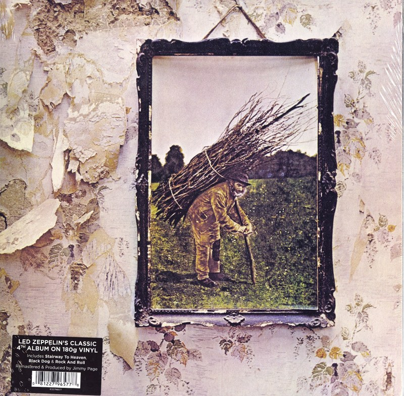 Led Zeppelin - IV - 180 Gram, Vinyl, LP, Remastered by Jimmy Page, Atlantic, 2014
