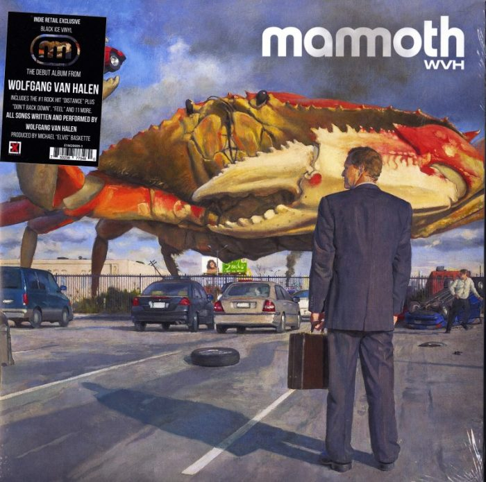 Mammoth WVH - self-titled - Limited Edition, Black Ice Vinyl, LP, Ex1 Records, 2021