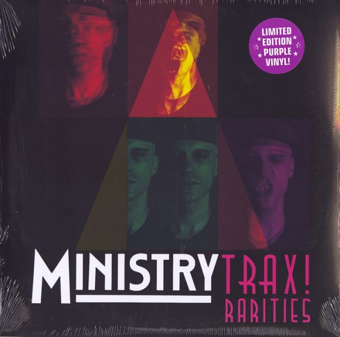 Ministry - Trax! Rarities - Limited Edition, Purple, Double Vinyl, LP, Cleopatra, 2021