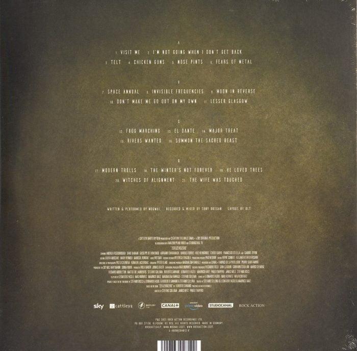 Mogwai - ZEROZEROZERO - Limited Edition, White Double Vinyl, LP, Rock Action Records, 2021