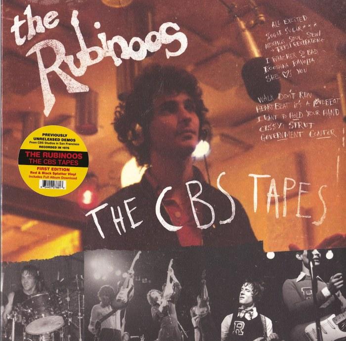 The Rubinoos - The CBS Tapes - Limited Edition, Red Black Splatter, Vinyl, LP, Yep Roc, 2021