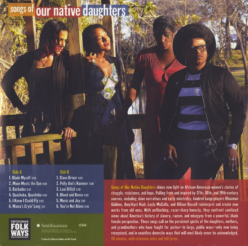 Our Native Daughters - Songs Of Our Native Daughters - Ltd Ed, Brown Vinyl, LP, Smithsonian Folkways, 2021