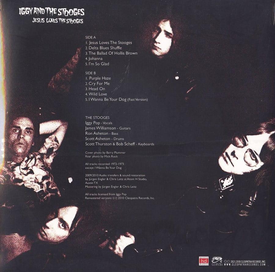 Iggy & The Stooges - Jesus Loves The Stooges - Ltd Ed, Splatter Vinyl, LP, Cleopatra, 2021