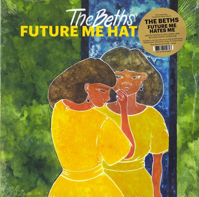 The Beths - Future Me Hates Me - Limited Edition, Cloudy Grape, Vinyl, LP, Reissue, Carpark, 2021