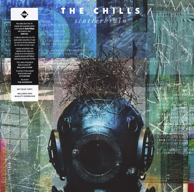 The Chills - Scatterbrain - Limited Edition, Sky Blue Vinyl, LP, Fire Records, 2021