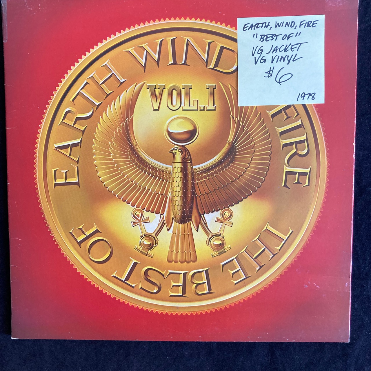 Earth Wind Fire Records For Sale