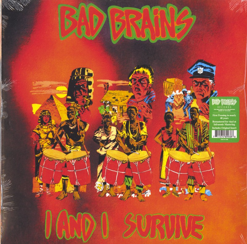 Bad Brains - I And I Survive - Vinyl, EP, Remastered, Org Music, 2021