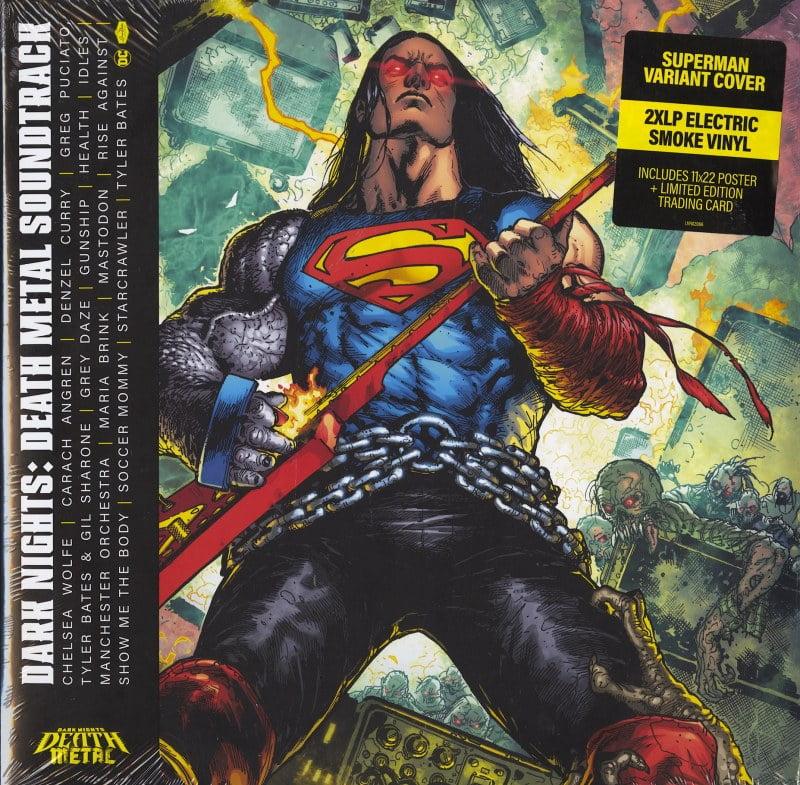 Various Artists - Dark Nights: Death Metal - Limited Variant, Colored Vinyl, 2XLP, Loma Vista, 2021