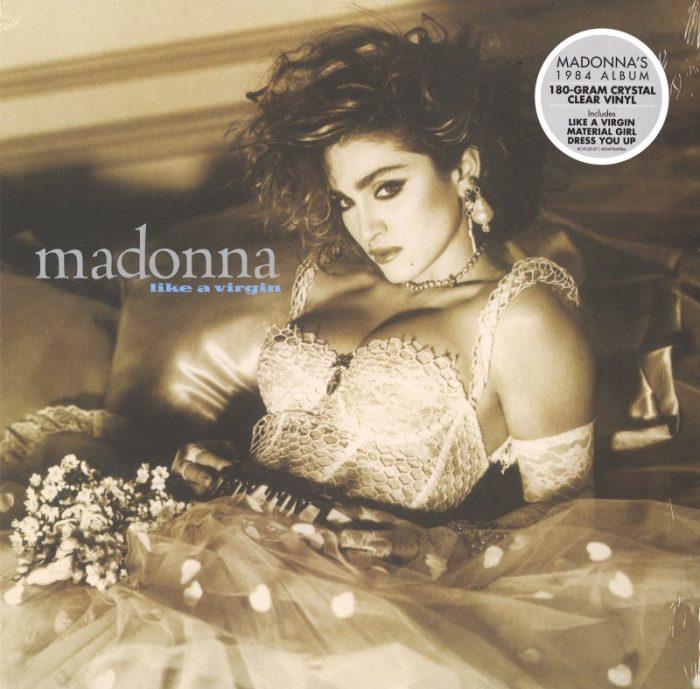 Madonna - Like A Virgin - Limited Edition, Clear Vinyl, LP, Warner Records, 2019