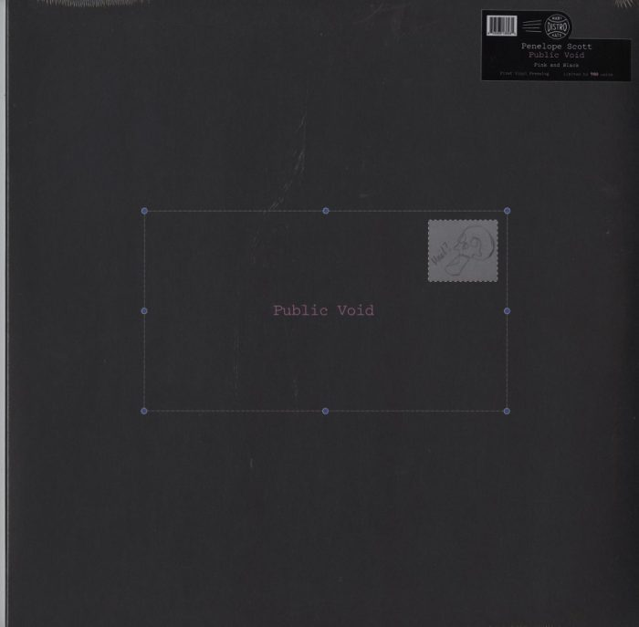 Penelope Scott - Public Void - Limited Edition, Pink and Black, Vinyl, LP, Many Hats, 2021