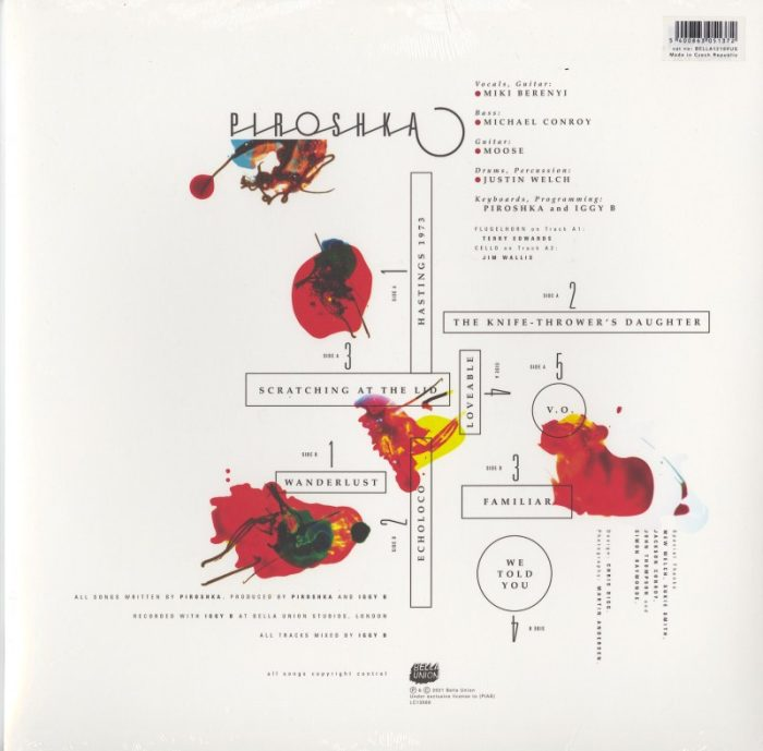 Piroshka - Love Drips And Gathers - US Exclusive, Red Vinyl, LP, Pias America, 2021