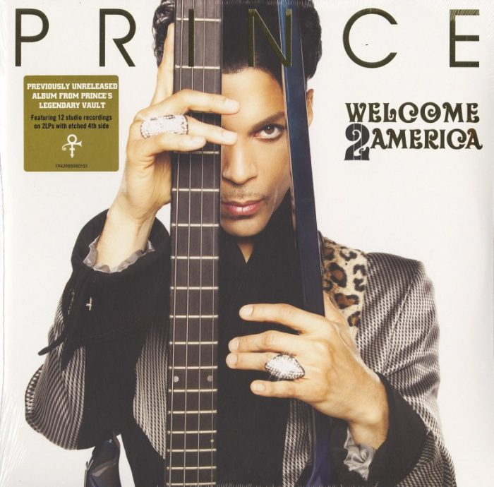 Prince - Welcome 2 America - 150 Gram, Double Vinyl, Etched, Sony Legacy, 2021