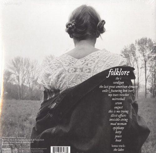Taylor Swift - Folklore - Beige, Colored Vinyl, 2XLP, Universal Music, 2021