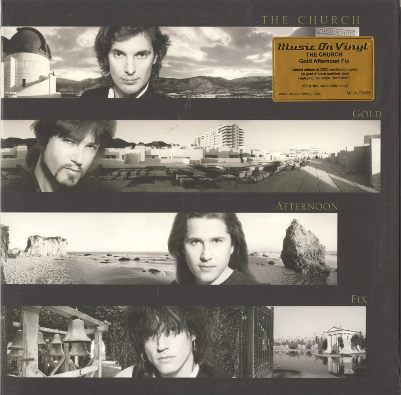 The Church - Gold Afternoon Fix - Limited Edition, Gold/Black Vinyl, Numbered, MOV, 2021