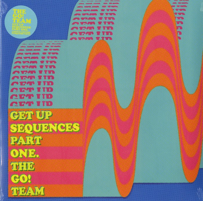 The Go! Team - Get Up Sequences Part One - Limited Edition, Turquoise Vinyl, LP, Memphis Industries, 2021