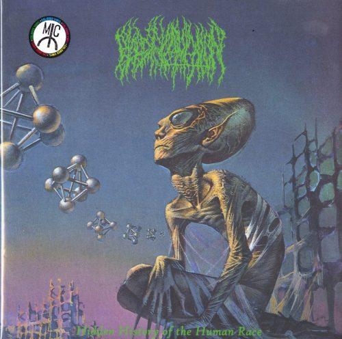 Blood Incantation - Hidden History Of The Human Race - Neon Green, Vinyl, LP, Dark Descent, 2020