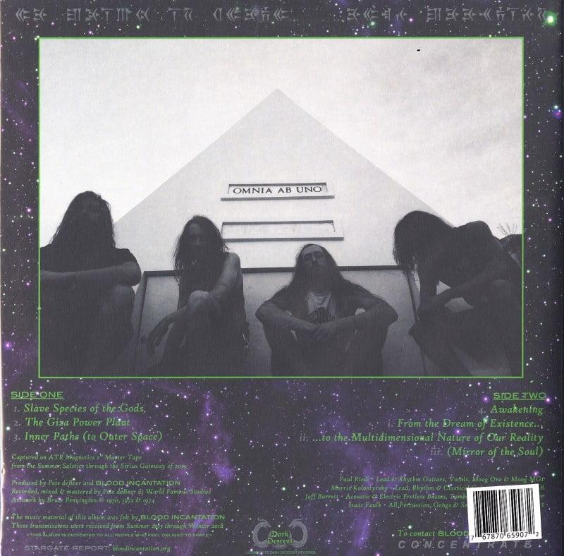 Blood Incantation - Hidden History Of The Human Race - 2XLP, Neon Green, Vinyl, Dark Descent, 2020