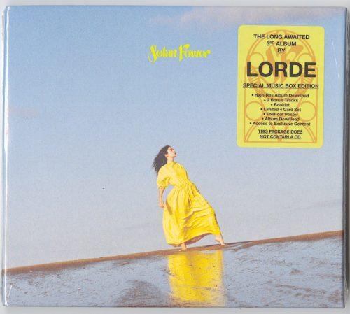 Lorde – Solar Power – Discless Music Box, Bonus Tracks, Poster, Booklet, Download Card, Republic, 2021