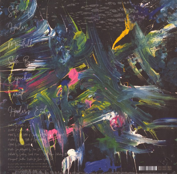 Martin Gore - The Third Chimpanzee - Limited Edition, Blue, Colored Vinyl, EP, Mute, 2021