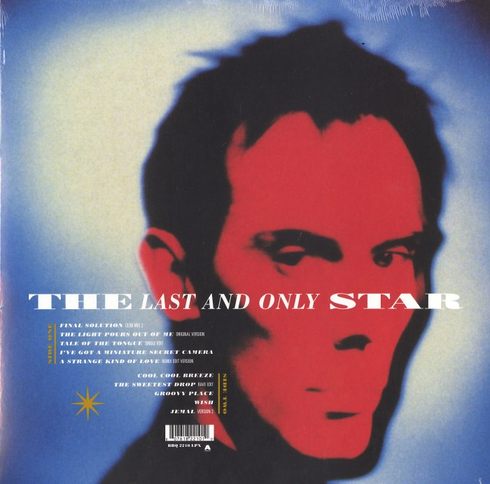 Peter Murphy - The Last And Only Star - Limited Edition, Gold Vinyl, LP, Beggars Banquet, 2021