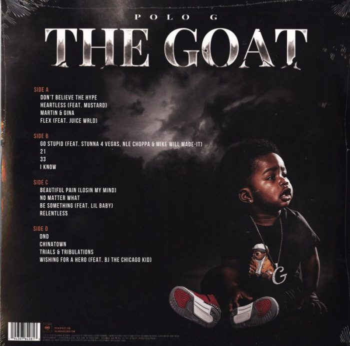 Polo G - The GOAT - Double Vinyl, LP, Columbia Records, 2020