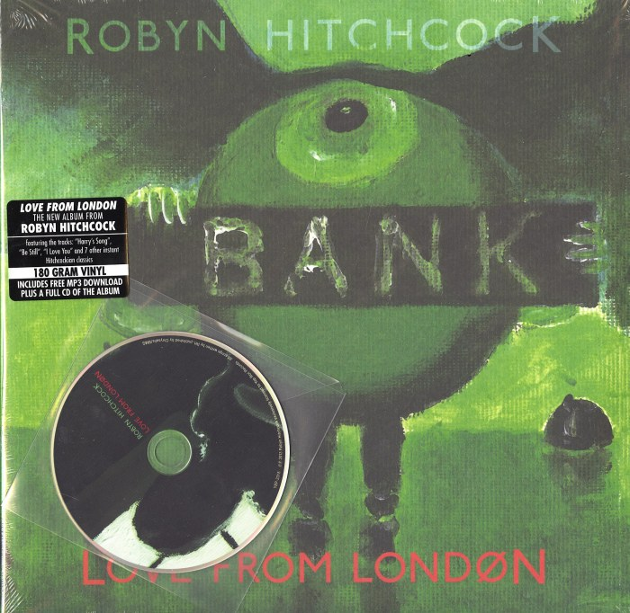 Robyn Hitchcock - Love From London - Vinyl, LP, Yep Roc, 2013