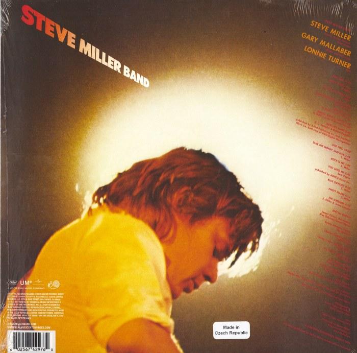 Steve Miller Band - Fly Like An Eagle - 180 Gram, Black and Yellow Vinyl, LP, Capitol, 2019