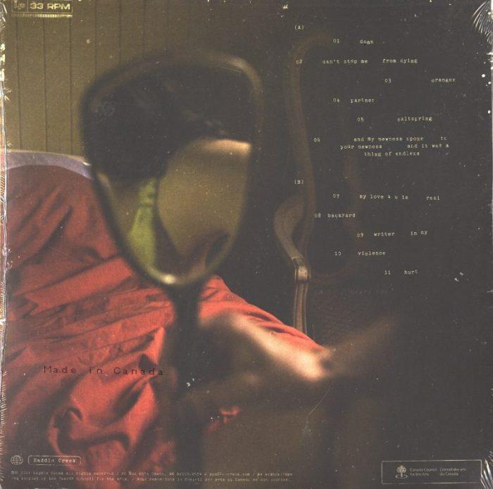 Ada Lea - one hand on the steering wheel... - Ltd Ed, Wine Stain Vinyl, LP, Saddle Creek, 2021