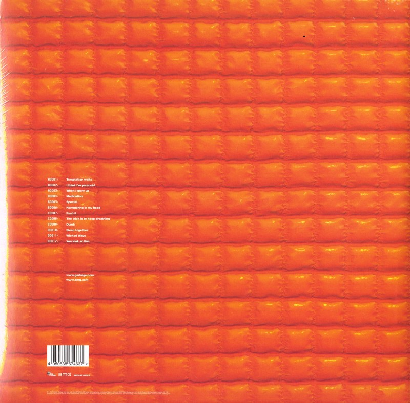 Garbage - Version 2.0 - Double Vinyl, LP, Remastered, Import, Infectious, 2021