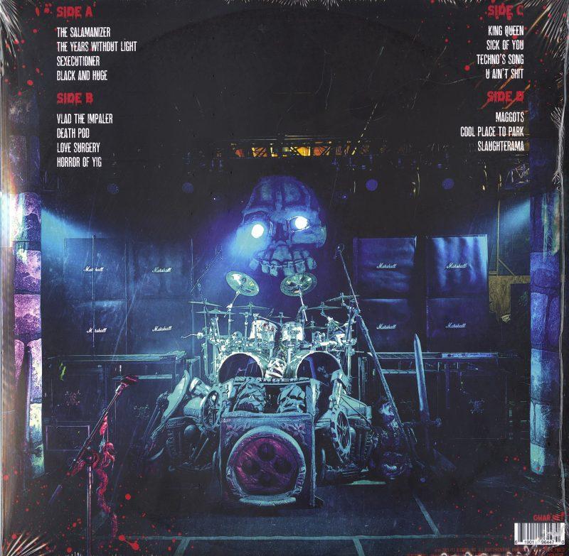 GWAR - Scumdogs XXX Live - Blue, Double Vinyl, LP, Pit Records, 2021