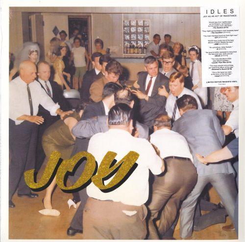 Idles - Joy As An Act Of Resistance - Ltd Ed, Magenta, Vinyl, LP, Reissue, Partisan, 2021