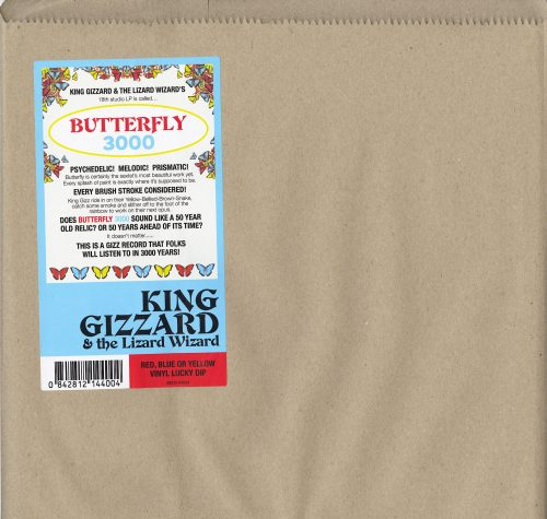 King Gizzard and the Lizard Wizard - Butterfly 3000 - English Edition, Vinyl, LP, KGLW, 2021