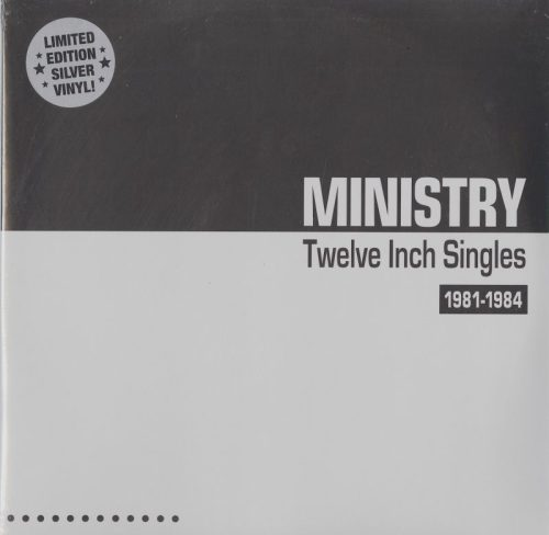 Ministry - Twelve Inch Singles 1981-1984 - Limited Edition, Silver, Double Vinyl, Expanded Edition, LP, Cleopatra, 2021