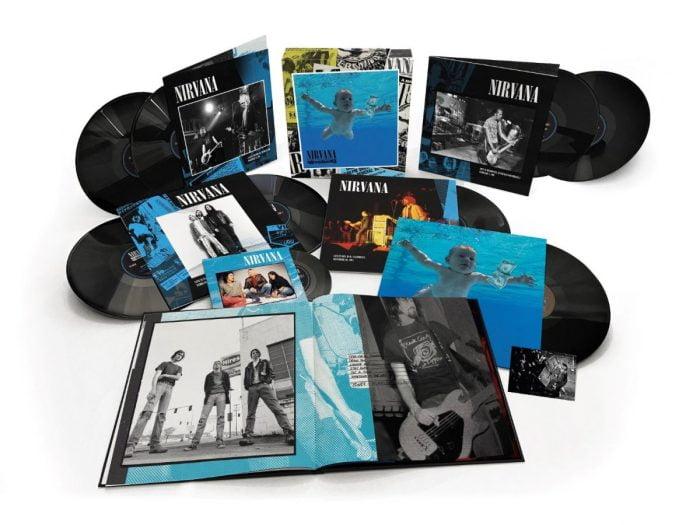 "Nirvana - Nevermind - Super-Deluxe 8-LP Set, Bonus 7"", Geffen, 2021 - PRE-ORDER"