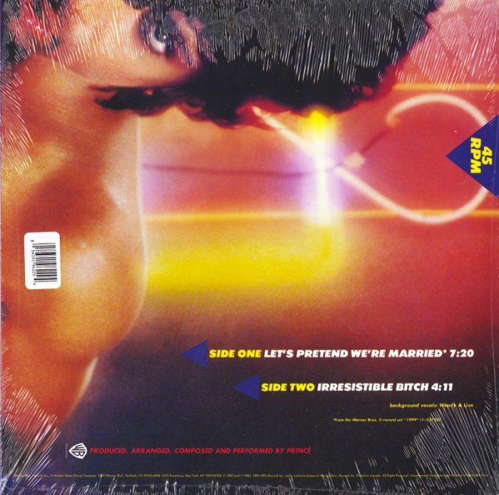 Prince - Let's Pretend We're Married - Vinyl, Maxi-Single, Warner Records, 2016