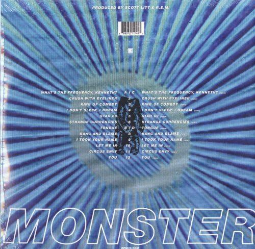 R.E.M. - Monster - 180 Gram, Double Vinyl, 25th Anniversary Edition, LP, Craft Recordings, 2019