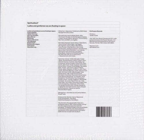 Spiritulaized - Ladies And Gentlemen We Are Floating In Space - Ltd Ed, Blue, Double Vinyl, LP, 2021