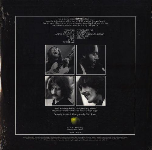 Beatles - Let It Be - Limited Edition, Picture Disc, Vinyl, LP, Capitol Records, 2021