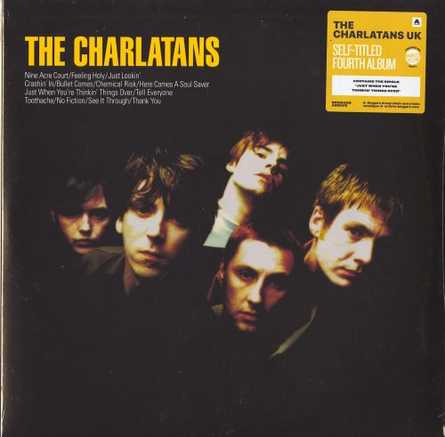 The Charlatans UK - Charlatans - Limited Edition, Yellow Marble, Double Vinyl, Beggars, 2021