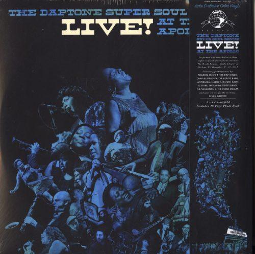 Various Artists - Daptone Super Soul Revue (Live At The Apollo) - Ltd Ed, 3XLP, Teal Vinyl, 2021