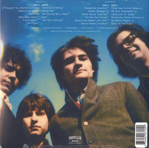 The dB's - I Thought You Wanted To Know - Limited Edition, Translucent Green, Vinyl, LP, Propeller Sound Recs, 2021