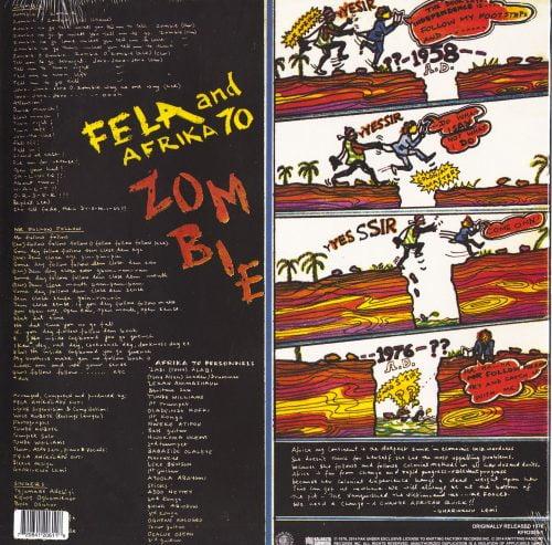 Fela Kuti - Zombie - 180 Gram, Vinyl, LP, Reissue, Knitting Factory, 2016